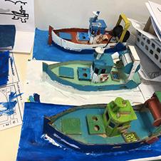 Maquettes réalisées par une classe de CM2