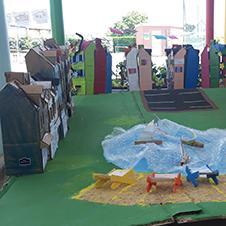 Création d'une ville Kit et Colle